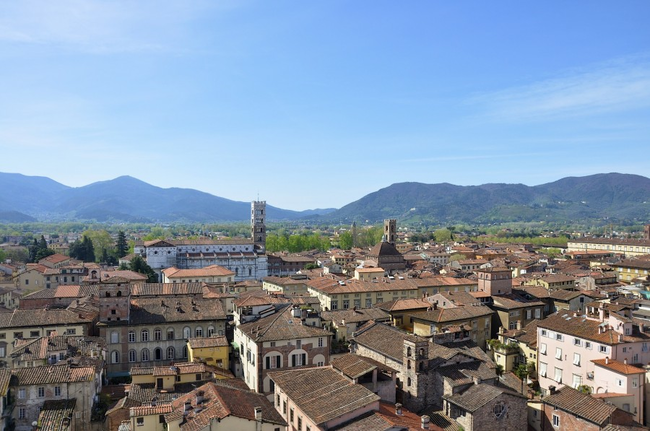 7.) Lucca, Italy