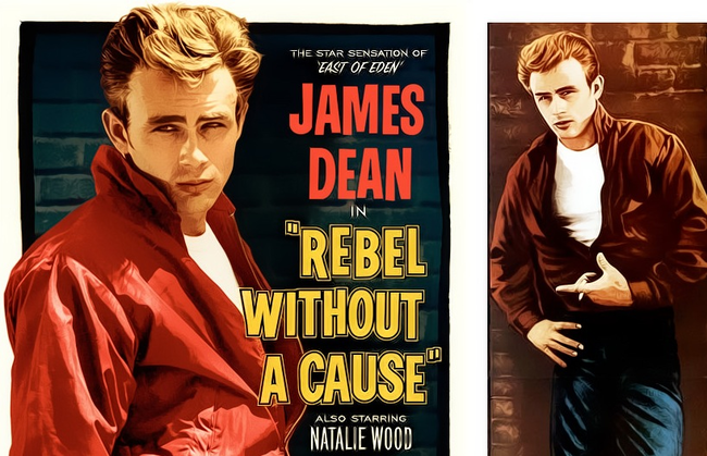 5.) Rebel Without A Cause (1955): This one almost sounds like a murder conspiracy. James Dean infamously died at the of of 23 before the film's release in a dangerous car chase, then his co-star Natalie Wood drowned some years later. Sal Mileno was stabbed to death as well. Also weird: Beverly Hill surgeon fitted his car with parts of Dean's vehicle and was similarly killed in a car crash. Dun dun dun...