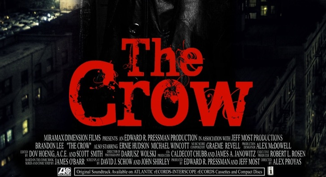 """11.) The Crow (1994): Star Brandon Lee was killed due to a wound inflicted by a metal tip that was lodged into the prop gun he was using for the scene. As strange as that story sounds, its even stranger if you followed the career of his father, Bruce Lee. Bruce starred in the film """"Game of Death"""" in which he plays an actor who gets killed by a real bullet that was loaded into a fake gun."""