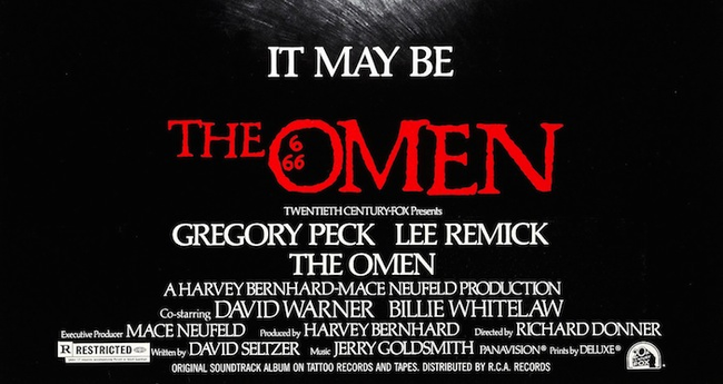 7.) The Omen (1976): Okay! This one's a doozy. So before filming even began, star Gregory Peck's son killed himself. On the way to filming Peck's plane was hit by lightning, as was the scriptwriter's plane AND the executive producers plane. During shooting, the hotel where the producers were staying was bombed by the IRA and an animal handler was killed by a tiger. After working on the film, special effects consultant John Richardson was involved in a car crash that killed his assistant. The road sign near the crash read 'Ommen, 66.6km'. The date?Friday the 13th of August, 1976.