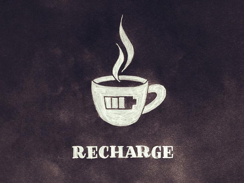 14) Recharge.