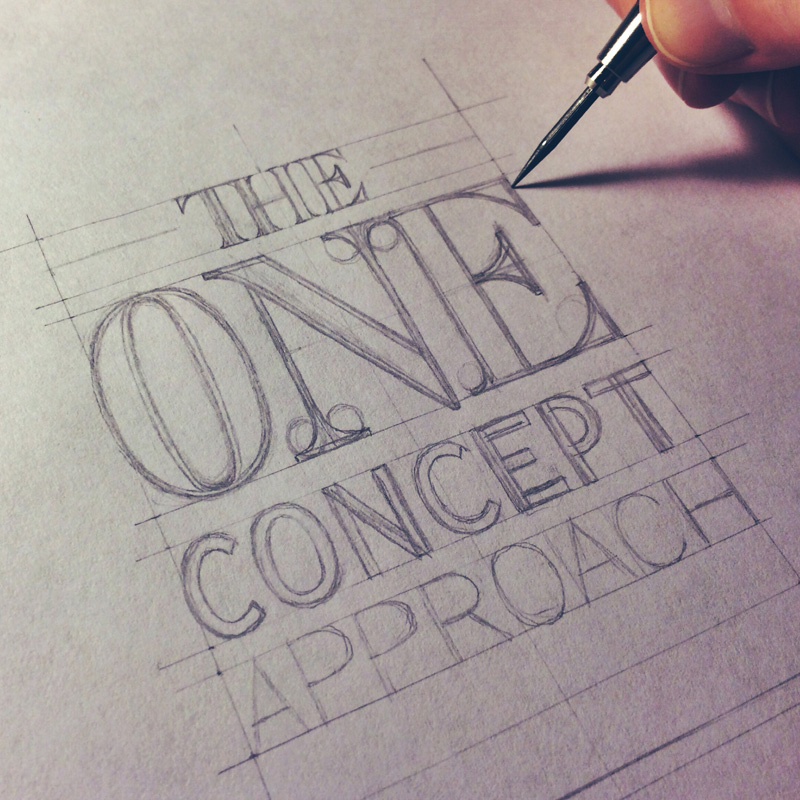 20) Working on The One Concept Approach.