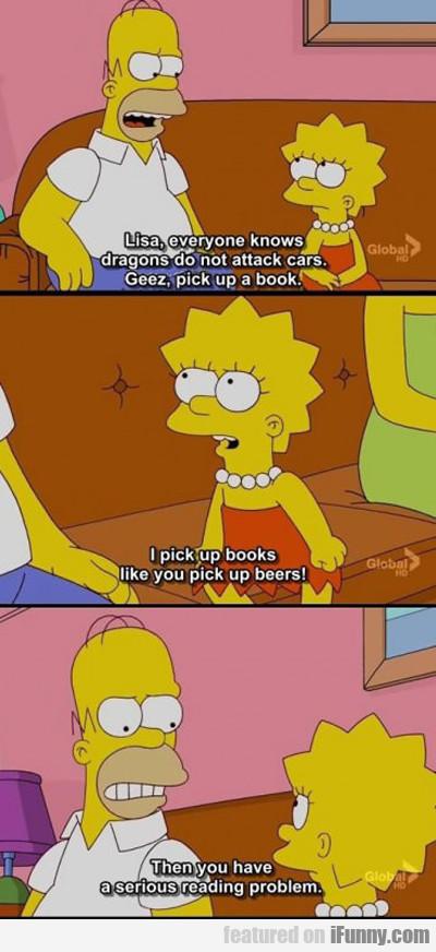 Lisa, Everyone Knows Dragons Do Not...