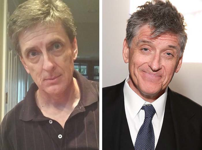 3.) Looks just like: Craig Ferguson.