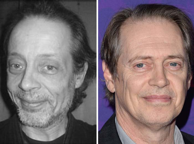 12.) Looks just like: Steve Buscemi.