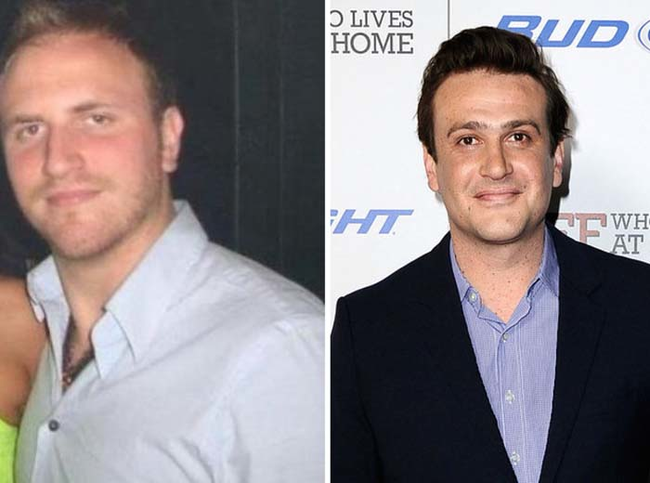 14.) Looks just like: Jason Segel.