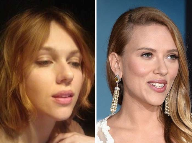 15.) Looks just like: Scarlett Johansson.