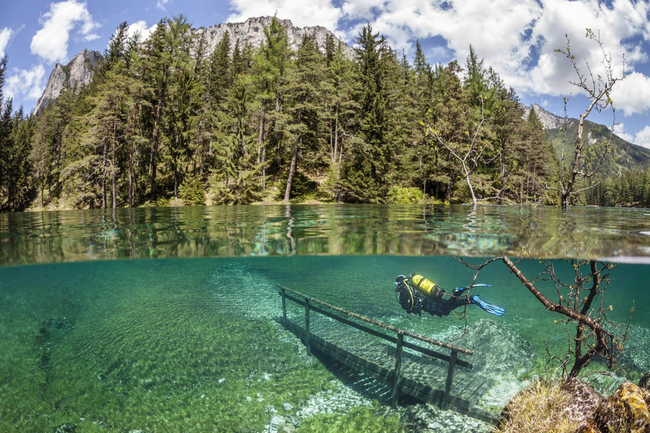 Green Lake, Austria