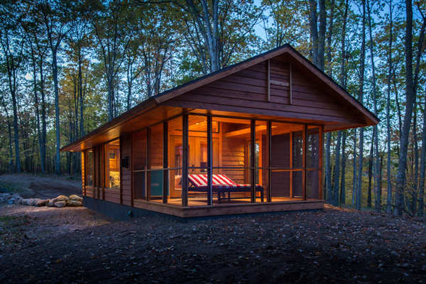 It may look like a cabin, but this is actually an RV (no joke).