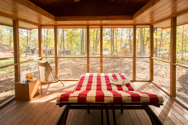 The ESCAPE cabin was originally conceived as a high quality cabin, NOT an RV.