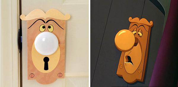 9.) Convert a normal doorknob into a talking one.