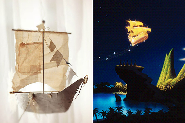 10.) Create your own, magical flying ship.