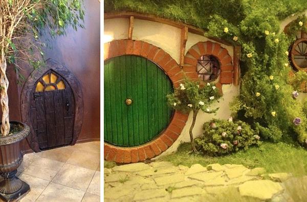 7.) Turn any storage closet into a hobbit hole.