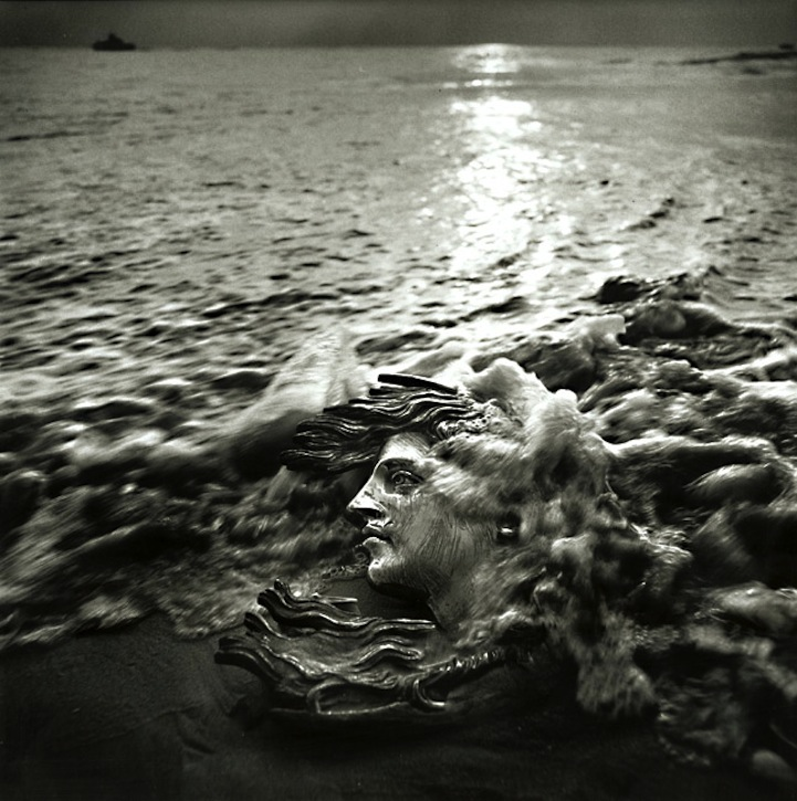 10.) Woman's Head Washing Away