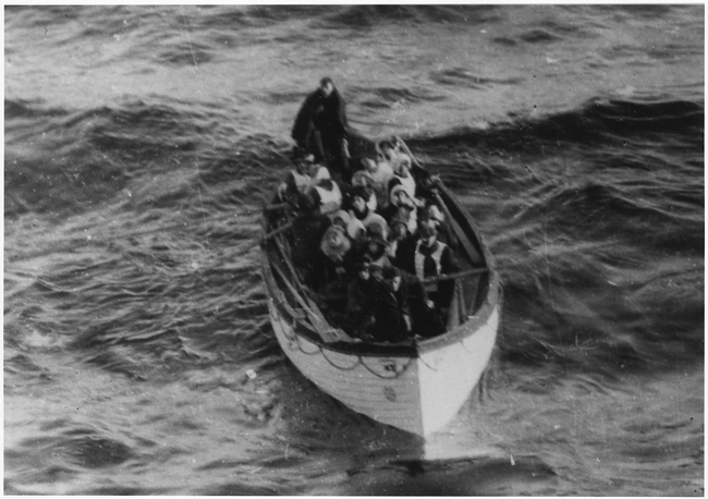11.) Most life boats on the ship that had been used weren't filled to capacity. There were enough life boats for everyone to survive if they had been filled to capacity.