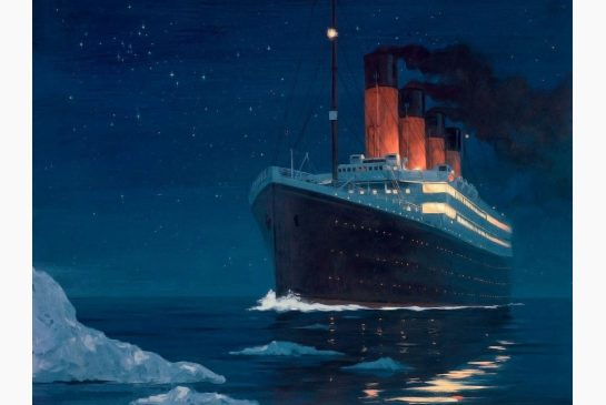 12.) The Titanic crash could have been avoided if they had gotten word about the iceberg 30 seconds before the captain did.