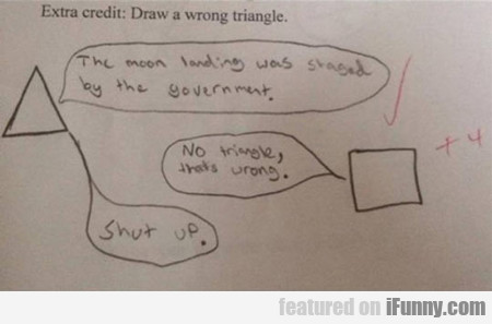 Extra Credit: Draw A Wrong Triangle...