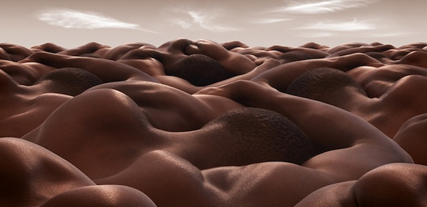 "Check out this ""Desert of Sleeping Men."""