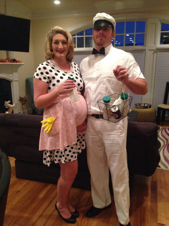 17.) Housewife and Milkman