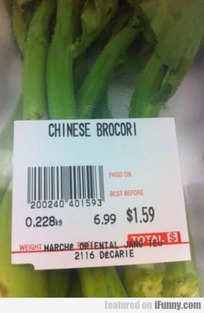 Chinese Brocori