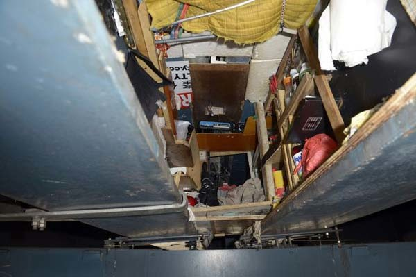 "It was quite literally a ""crawl space."""
