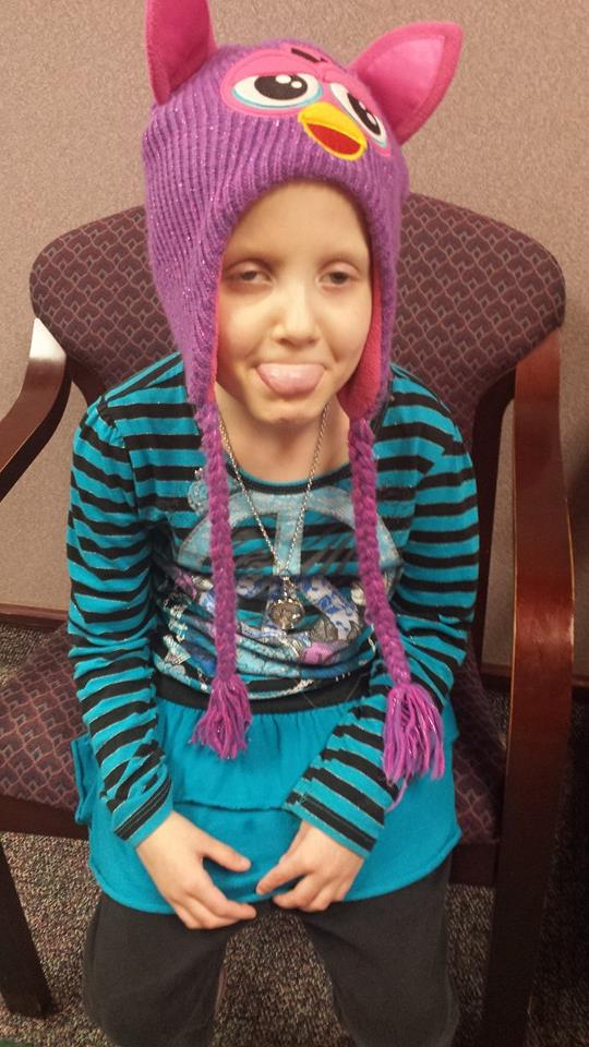 But today she is cancer free, though she will still need further treatment.