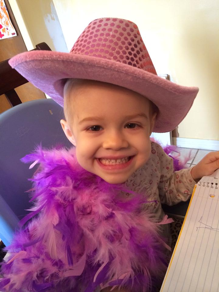Ainsley was put into a 10-day medically-induced coma following her diagnosis with acute lymphoblastic leukemia in August 2013. Now cancer free, she will require 2 years of maintenance chemo.