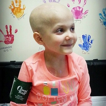 Rheann's outlook was particularly grim when diagnosed with mucoid spindle sarcoma, a rare form of brain cancer. She has undergone 5 brain surgeries.