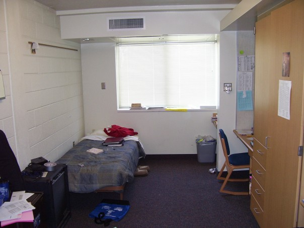 In 2006, students in a dorm decided to prank their RA, who would be leaving for a three day weekend.