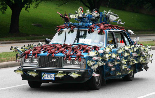 5.) This car is a little fishy.