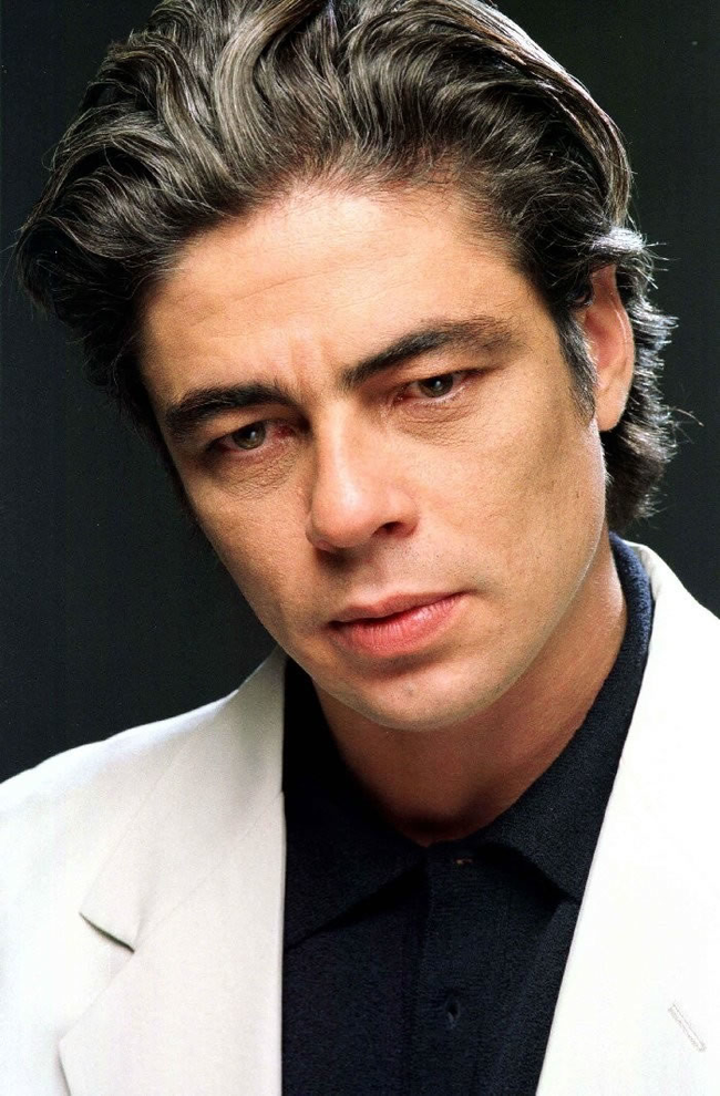 10.) Benicio del Toro defied his father's wishes when he dropped out of school studying law to pursue acting.