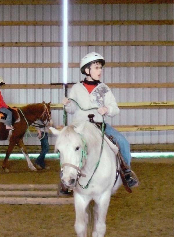 14.) Good thing this kid grabbed his light saber before riding into battle.