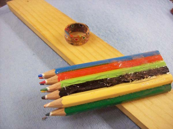 How can a pile of pencils turn into something this cool?